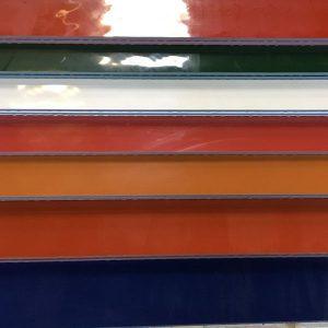 Gekleurde platen